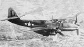 Mitsubishi Ki-83 - опытный экземпляр на испытаниях в США_1946 г.