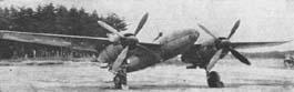 Mitsubishi Ki-83 - опытный экземпляр на испытаниях в Японии_1945 г.