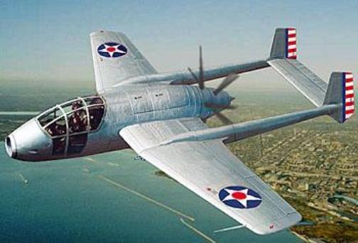 Bell XP-59 - истребитель первого проекта с таким обозначением, 1939 г.
