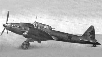 Прототип штурмовика Ил-АМ-42