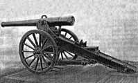 Canon de 120L mle 1878 с гидравлическим тормозом отката