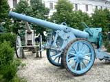 Canon de 120L mle 1878 - экспонат музея в Бухаресте