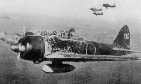 "Mitsubishi A6M2 ""Zero"", 1942 г."