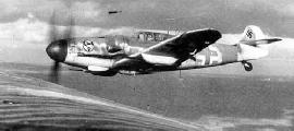 Messerschmitt Bf.109G-6 с подвесными 20-мм пушками, 1943 г.