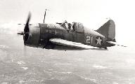"Brewster F2A-3 ""Buffalo"" (бортовой номер 21, авиация Корпуса Морской Пехоты США), 1941 г."