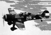 Fokker D.XXI с номером 215, 1939 г.