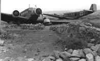 Разбитые в ходе высадки на Крит транспортные самолёты Ju-52/3m,май 1941 г.