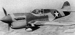 "Curtiss P-40N ""Kittyhawk"" из состава USAF, 1943 г."