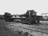 305-мм гаубицы на ж\д платфлрме
