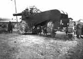 Obice 305/17 mod.1917 на лафете конструкции де Стефано