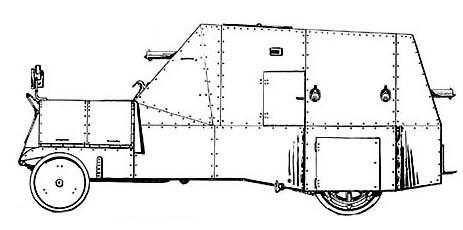 Junovicz Panzerwagen P.A.1