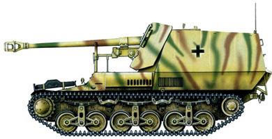"""Самоходная установка """"Marder I"""" (Sd.Kfz.135)"""