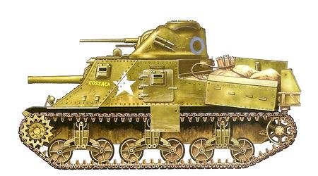 Средний танк M3 с названием