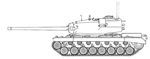Тяжёлый танк T29 , характеристики и описание