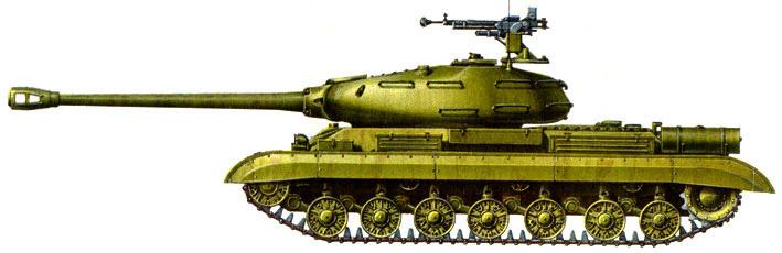 Тяжёлый танк ИС-4 , характеристики и описание
