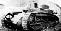 Проект легкого танка Delaunay-Belleville образца 1916 г.