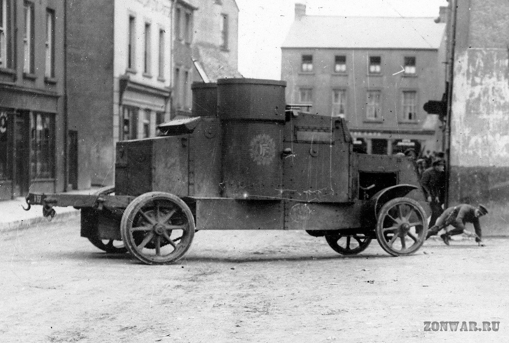 Peerles Anti-Aircraft Armored Car
