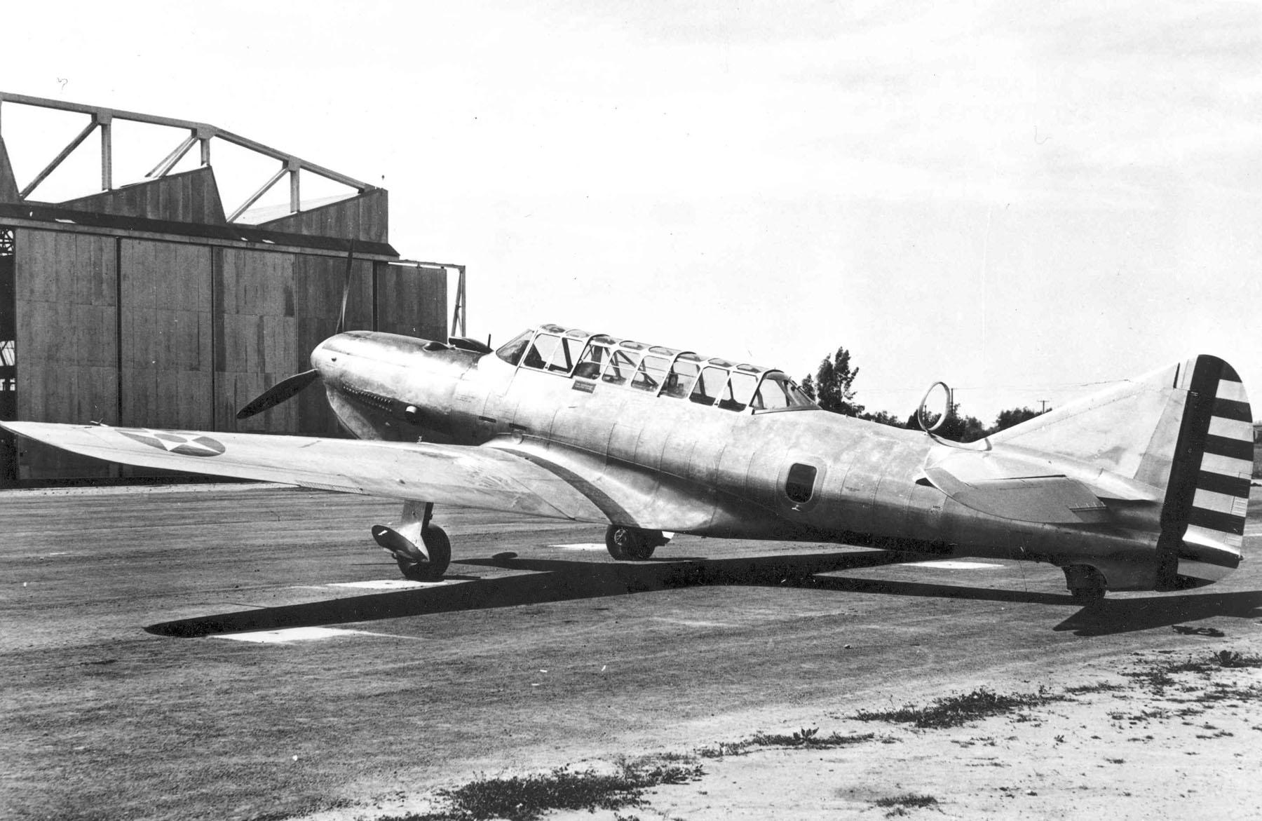 Vultee YA-19A