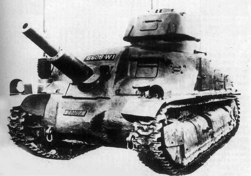 ARL V39 Самоходная артиллерийская установка