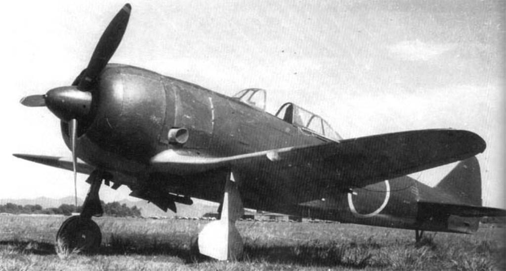 """Nakajima Ki-44-IIa """"Shoki"""""""