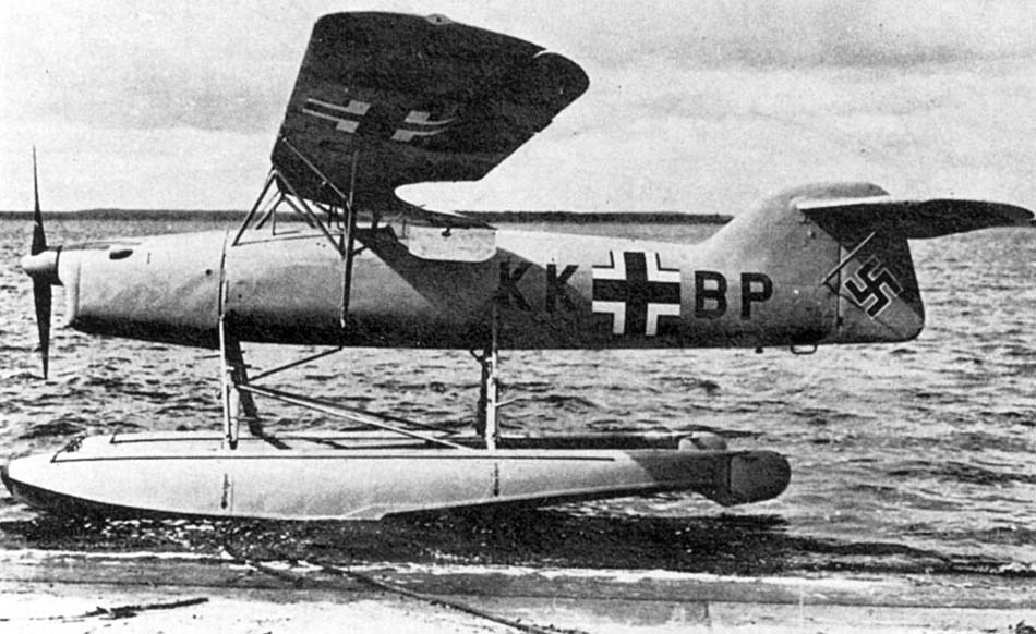 Разведчик подводного базирования Arado Ar-231V-1