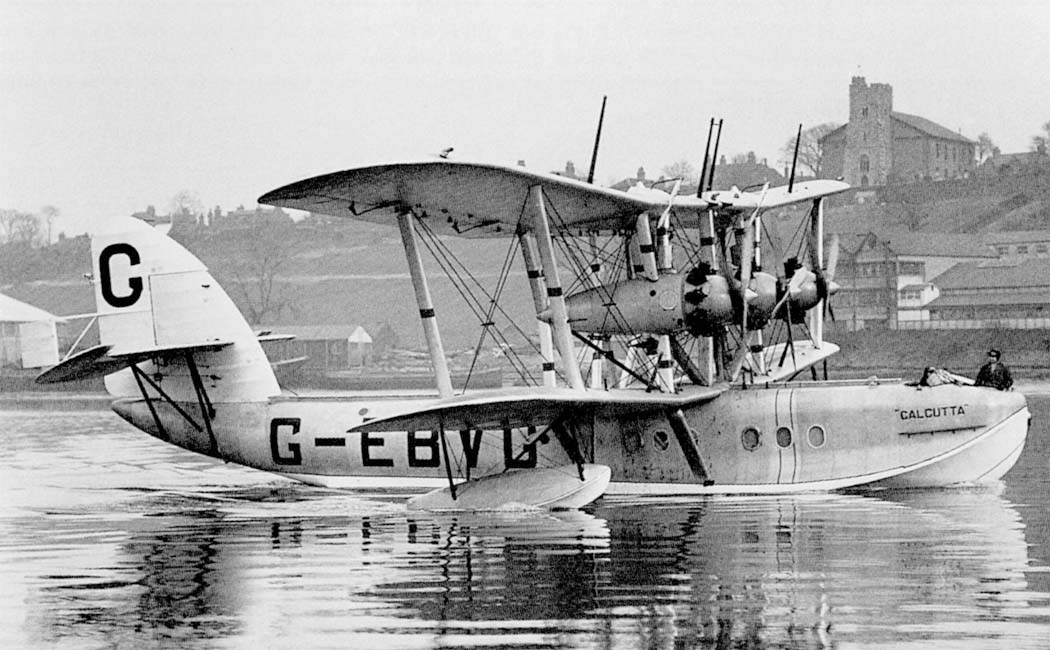 "Short S.8 ""Calcutta"" (G-EBVG)"