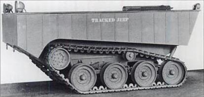 Willys W-TC - прототип амфибийной машины, 1944 г.
