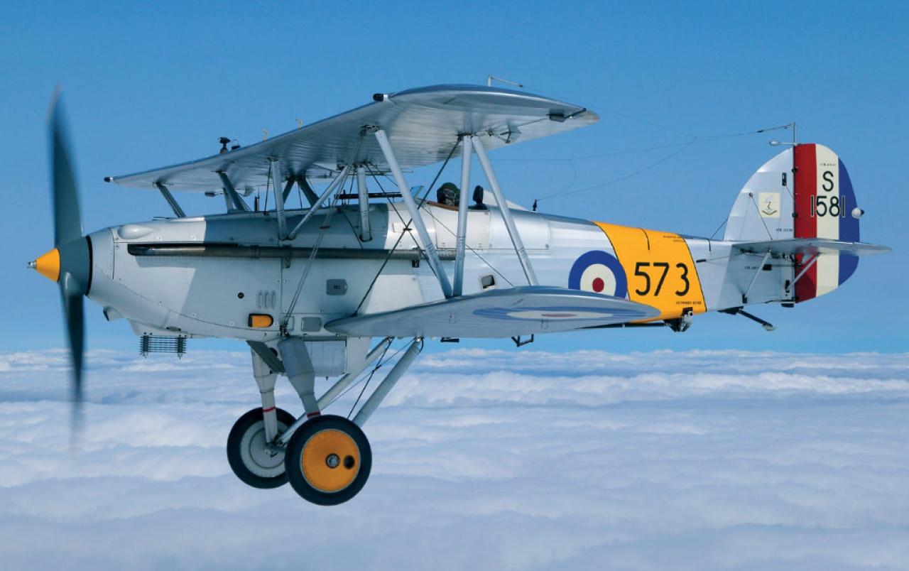 Обои самолеты, Hawker demon, nimrod. Авиация foto 7
