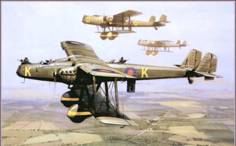 "Handley Page H.P.50 ""Heyford"""