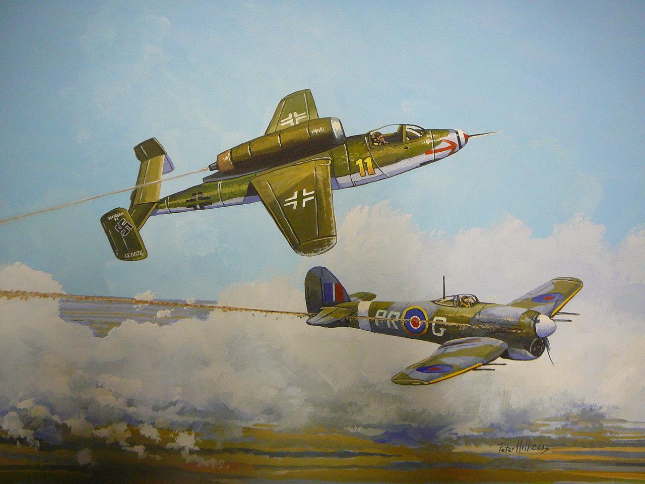 "Heinkel He-162 ""Salamander"""