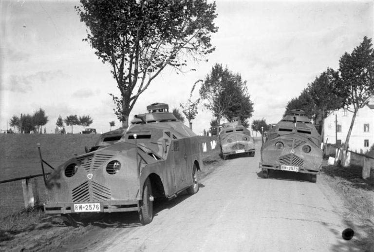 Kleinkraftwagen Maschinengewehr