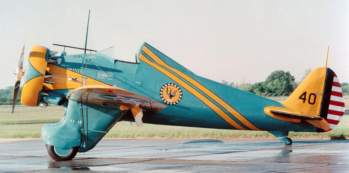 """Boeing P-26 """"Peashooter"""