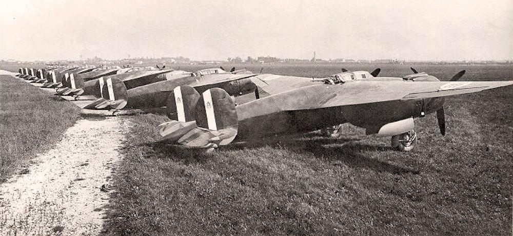 Breda Ba.88 с моторами Paiggio P.XI RC40