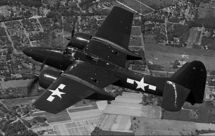 """Grumman F7F-2N """"Tigercat"""