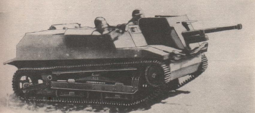 TKS-D Противотанковая самоходная установка