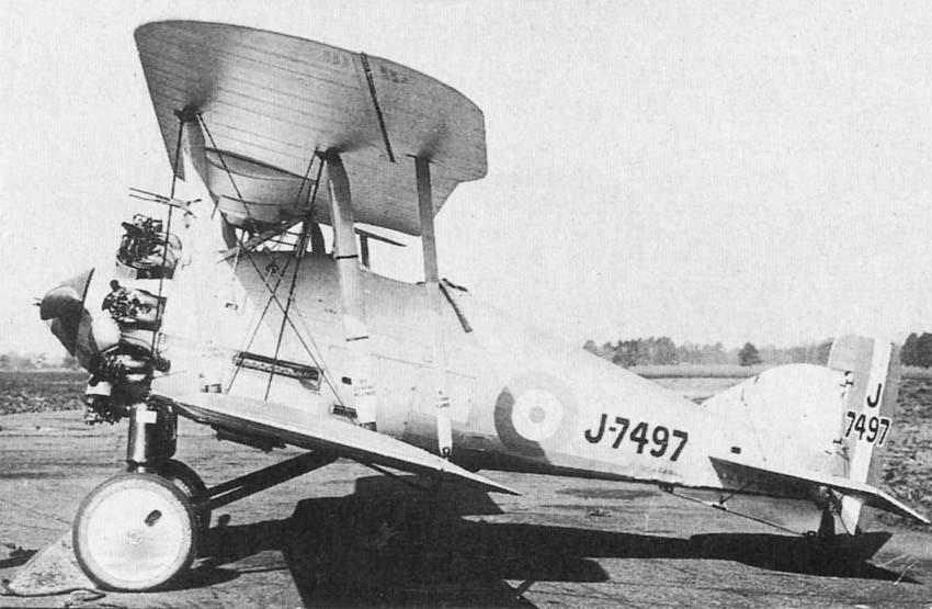 "Gloster ""Gamecock"" Mk.I"