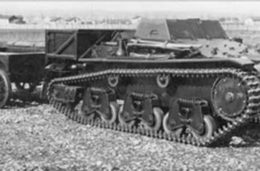 Fouga Chennilette d`Infanterie Бронированный тягач-транспортер