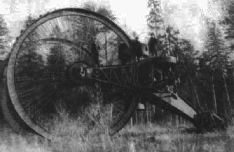 Колесный танк Лебеденко