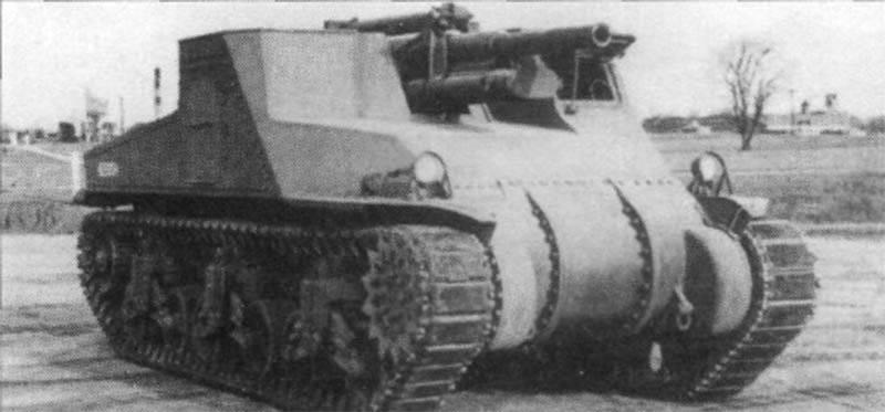 T40 \ M9 Gun Motor Carriage Противотанковая самоходная установка