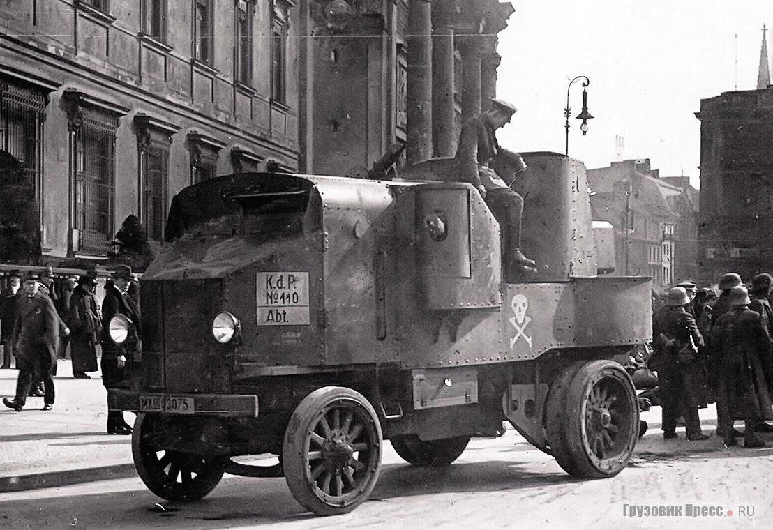 Garford Model 1914 Armored Car