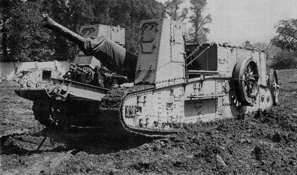 Mark X Model 1922E 4,7″ Gun Самоходная артиллерийская установка