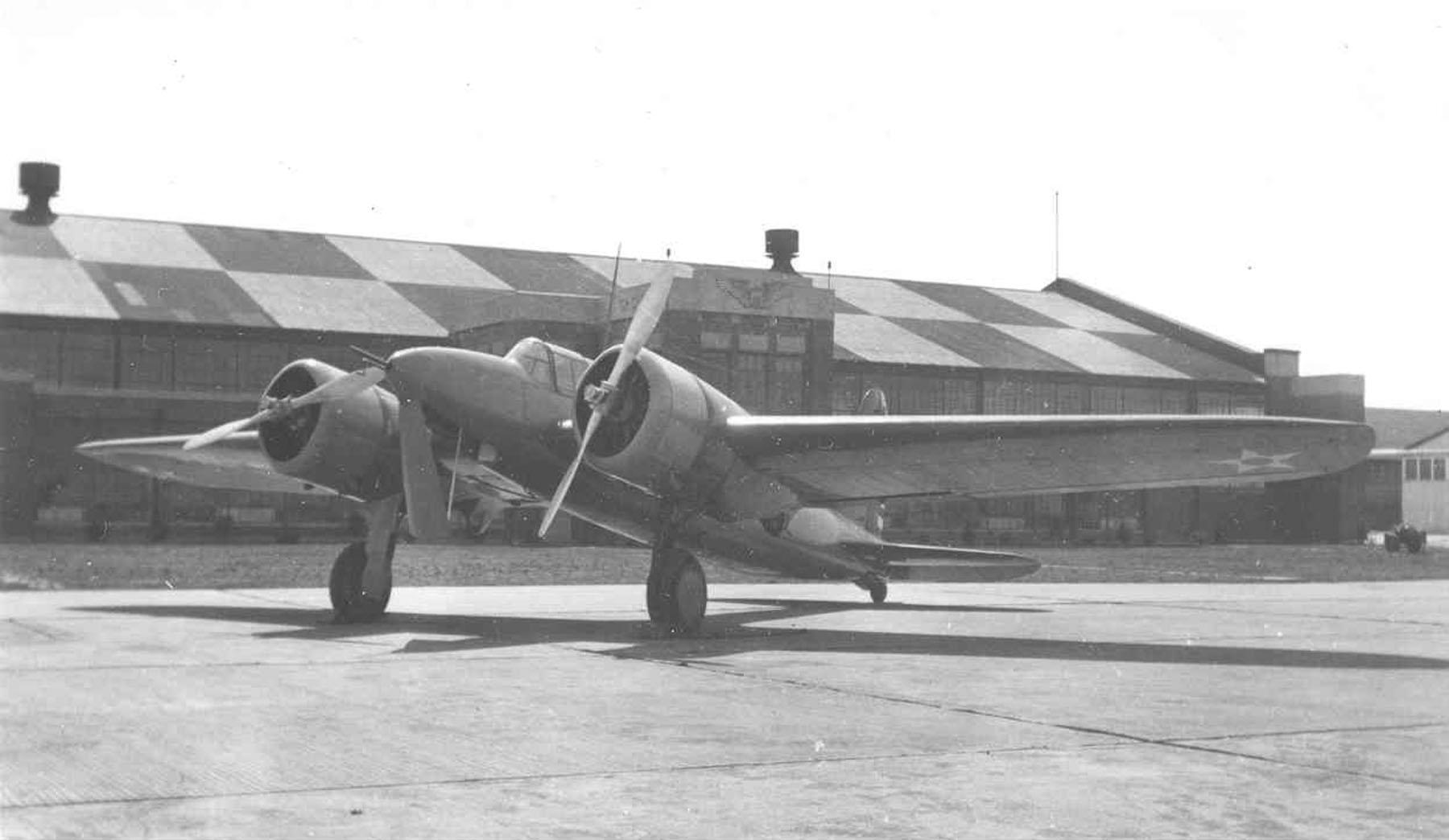 """Curtiss Y1А-18 """"Shrike II"""