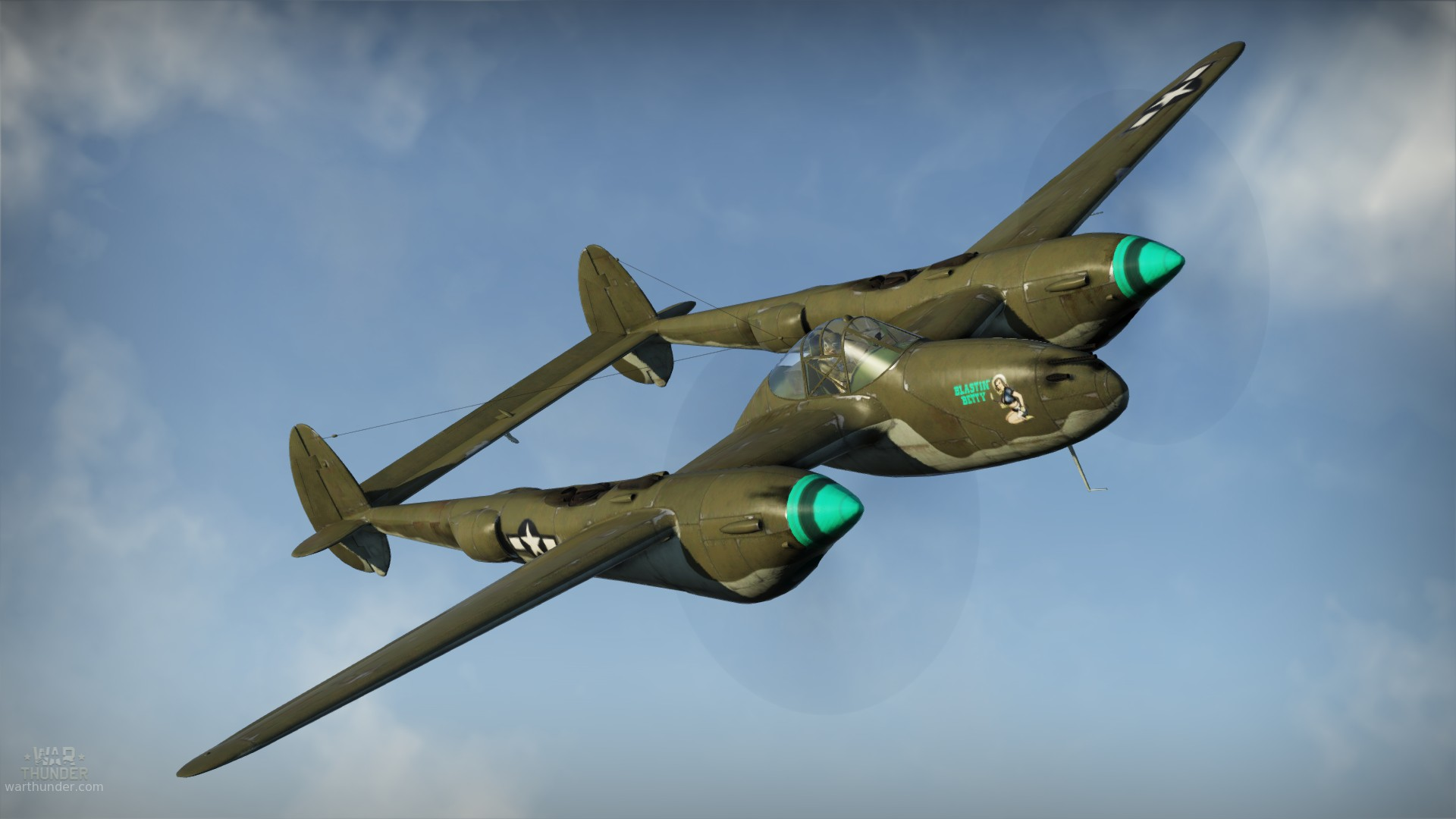 "Lockheed P-38G ""Lightning"