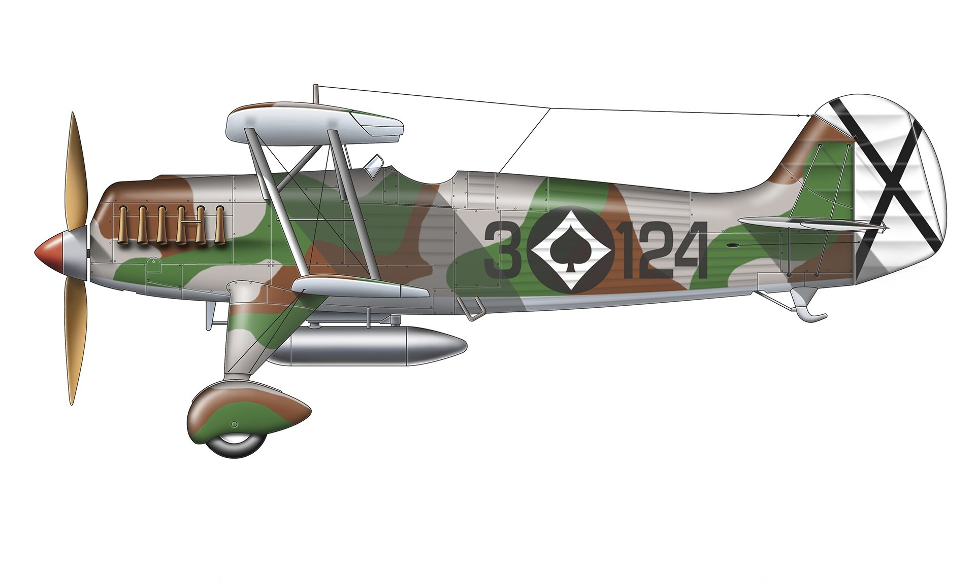 Heinkel He-51B-1