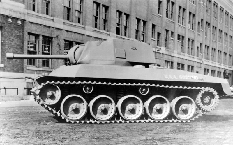 T49 \ T67 Gun Motor Carriage Противотанковая самоходная установка