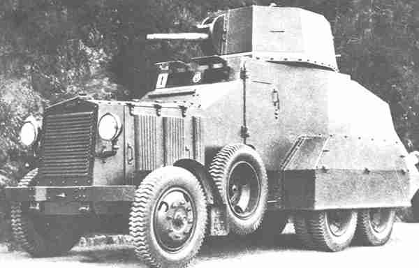 FIAT 604 Бронетранспортер