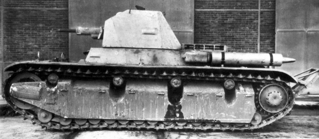 AMX 38 Легкий танк поддержки пехоты