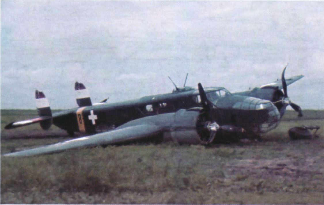 Средний бомбардировщик Caproni Ca.135