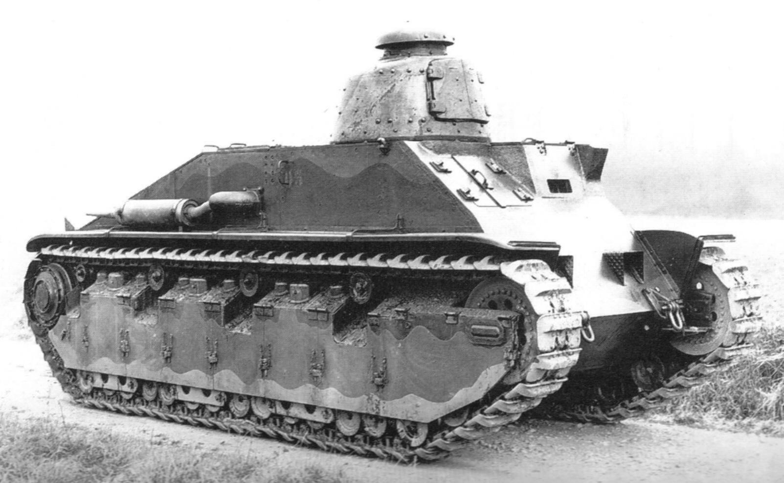 Renault D3 Легкий танк сопровождения пехоты