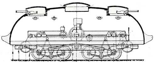 Testuggine Corazzata Ansaldo Turrinelli (Modello II) Тяжелый танк